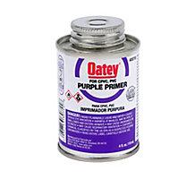 Oatey 30755, Purple Pipe Primer, 4 oz.