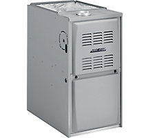 Aire-Flo, Upflow/Horizontal Gas Furnace, 80% AFUE, 44,000 Btuh, PSC, 1 Stage, 3 Ton, 80AF1UH045P12A
