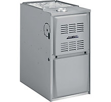 Aire-Flo, Upflow/Horizontal Gas Furnace, 80% AFUE, 88,000 Btuh, PSC, 1 Stage, 4 Ton, 80AF1UH090P16B