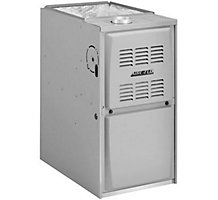 Aire-Flo, Upflow/Horizontal Gas Furnace, 80% AFUE, 110,000 Btuh, PSC, 1 Stage, 5 Ton, 80AF1UH110P20CL