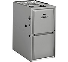 Aire-Flo, Upflow/Horizontal Gas Furnace, 95% AFUE, 110,000 Btuh, PSC, 1 Stage, 5 Ton, 95AF1UH110P20C