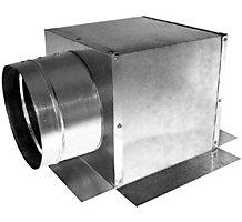 "Modular Metal 12"" x 12"" x 10"", Ceiling Box, Side Tap"