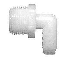 Nylon Elbow, 5/8 Barb x 3/4 MPT, 4 Pk