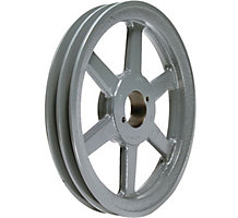 """Browning 2BK67H Pulley, 0.375-1.5"""" Bore, 6.45"""" O.D."""