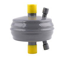 """Sporlan 88K4401 Catch-All Compact Suction Line Filter Drier, 14 cu in, 3/4"""" ODF Solder, 3 Tons"""