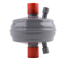 """Sporlan 88K4501 Catch-All Compact Suction Line Filter Drier, 14 cu in, 7/8"""" ODF Solder, 5 Tons"""