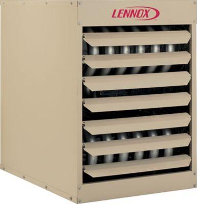 Lf24 200a Unit Heater Horizontal Aluminized Steel 195 000 Btuh Input 156 000 Btuh Output Lennoxpros Com