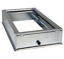 """McDaniels ACG1625-3 Accommodator Filter Housing, Short Base, 3-3/4"""" Height, for 1"""" or 2"""" x 16"""" x 25"""" Filters"""