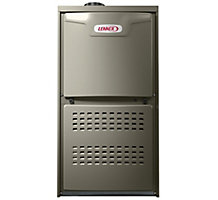 Low Nox Merit Series, Downflow Gas Furnace, 80% AFUE, 88,000 Btuh, PSC, 1 Stage, 2.5-4 Ton, ML180DF090XP48B