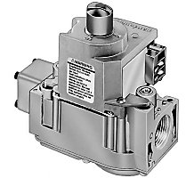 """24V Dual Direct Ignition Gas Valve with 3/4"""" x 3/4"""" Inlet/Outlet Step Opening Natural Fuel"""" 0.62 A Anticipator Setting"""