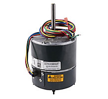 Regal Beloit 100016-02, Condenser Fan Motor, Variable Speed, 1/3 HP, 208-230/1