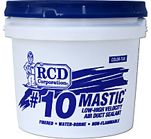 #10 Mastic Low to High Velocity Air Duct Sealant, 2 Gal Pail