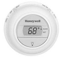 Honeywell T8775C1005 Digital Round, Non-Programmable Thermostat, Single Stage