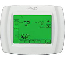 L5711U Comfort Sense 5000, 7 Day Programmable Single Stage Thermostat, Touchscreen