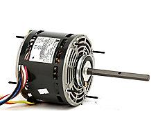 5840 PSC Furnace Blower Motor, 1/2HP, 4 Speed, 115 Volts, 1075 RPM