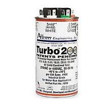 Universal Run Capacitor, TURBO 200, Up to 67.5 MFD, 440V, Round