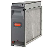 "Honeywell F300E1019 16"" x 25"" Electronic Air Cleaner with Performance Enhancing Post-Filter, 60Hz, 1400 CFM"