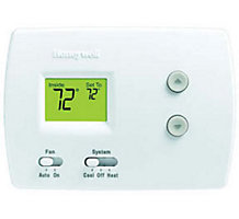 Honeywell TH3110D1008 PRO 3000, Non-Programmable Digital Thermostat, Single Stage