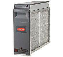 "Honeywell F300E1027 20"" x 20"" Electric Air Cleaner, 60Hz, 1400 CFM"