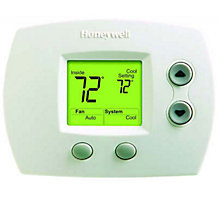 Honeywell TH4110D1007 PRO 4000, Programmable Thermostat, 5-2 Day, Single Stage