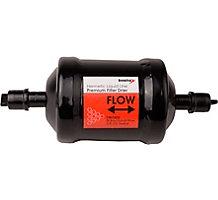 "Virginia KMP Liquid Line Bi-Flow Filter Drier, 8 cu in, 3/8"" ODF Solder, 1-5 Tons"