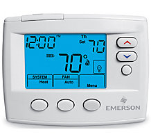 White Rodgers 1F80-0471, Blue Selecto Programmable Thermostat, 5-2 Day, Single Stage
