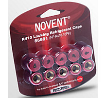 Locking Refrigerant Pink Cap for R410 1/4