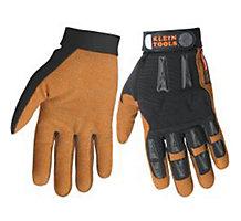 Klein 40068 Journeyman Leather Gloves, LG