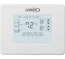 Comfort Sense 7000, Programmable Universal Thermostat, 7 Day, Multi-Stage, LCD Touchscreen