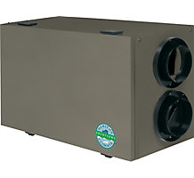 HEALTHY CLIMATE ERV3-150 CFM Energy Recovery Ventilator - Single Core 3rd Generation Balancing Damper Defrost