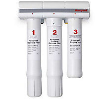 Honeywell 50045947-002/U RO Water Filter System with Store Tank and Water Pump