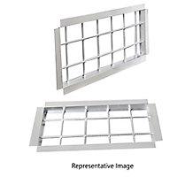 T1CURB (092-150) BURGLAR BARS