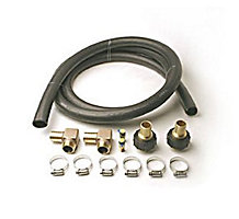 "Faucet Connection Hose Kit O-Ring x 1"" Ins"