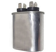 Run Capacitor, 7.5 MFD, 370V, Oval