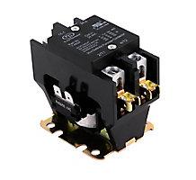 FirstChoice EC30224-EW Contactor, 2 Pole, 30 Amp, 24 Volt