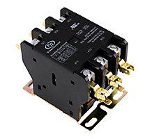 FirstChoice Definite Purpose Contactor, 3 Pole, 50 Amp, 24 VAC Coil