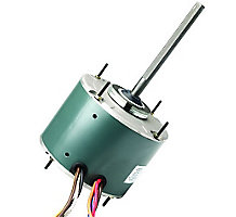 FirstChoice Condenser Fan Motor, 1/3 HP, 1075 RPM, 1 Speed, 2.8FLA, 208-230V, 60Hz, 60C Ambient