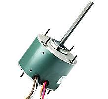 FirstChoice Condenser Fan Motor, 1/4 HP, 1075 RPM, 1 Speed, 2.2FLA, 208-230V, 60Hz, 60C Ambient