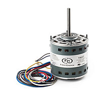 FirstChoice, Blower Motor, 1/2 HP, 208/230V-1Ph, 3 Speed, 1075 RPM, 5 Amps