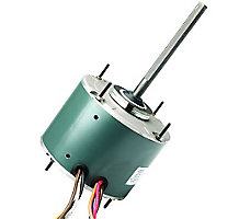 FirstChoice Condenser Fan Motor, 1/2 HP, 1075 RPM, 1 Speed, 4.2FLA, 208-230V, 60Hz, 60C Ambient
