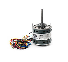 FirstChoice Air Handler Motor, 1/6-1/2HP, 4 Speed, 208-230 Volts, 60 Hz, 1075 RPM, 3.9 Amps