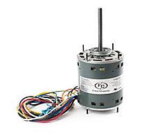 FirstChoice, Blower Motor, 1/5-3/4 HP, 4 Speed, 208/230V-1Ph, 1075 RPM, 3.8 Amps, Multi-Horsepower