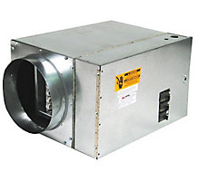 Furnace, Electric, 7.5kW, 1P/240V (Matches all Blowers), 300 CFM Air Flow, Single Supply