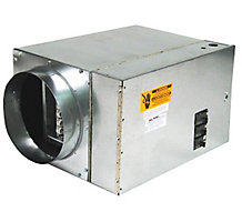 Furnace Electric 10 kW 1P/240V (2430 3642 and 4860 ) 500 CFM Air Flow Single Supply