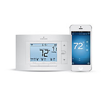 White Rodgers Emerson 1F86U-42WF, Sensi Programmable Wi-Fi Thermostat, 7 Day, Multi-Stage, Mobile App Available