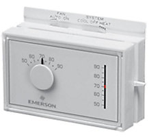 White Rodgers 1F56N-444, Non-Programmable Universal Thermostat, Single Stage