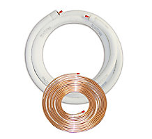 "3/8""L x 3/4"" x 1/2"" Wall, EZ-Pull Insulated Line Set, 25' Length, Plain End"