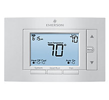 White Rodgers Emerson 1F85U-42PR, 80 Series Universal 4H/2C Programmable Thermostat