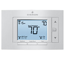 White Rodgers Emerson 1F85U-22PR, 80 Series Universal 2H/2C Programmable Thermostat