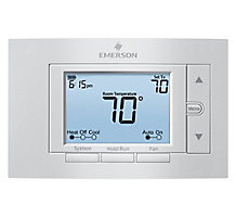 Emerson 1F85U-42NP, 80 Series Universal 4H/2C Non-Programmable Thermostat